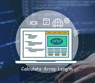 محاسبه طول آرایه در php