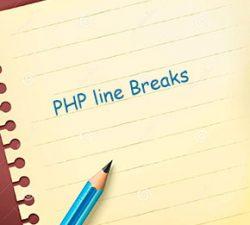رفتن به خط جدید در php (Line Breaks)
