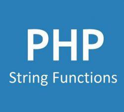 توابع کار با رشته ها در php