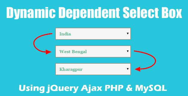 ساخت لیست آبشاری داینامیک با php و jquery