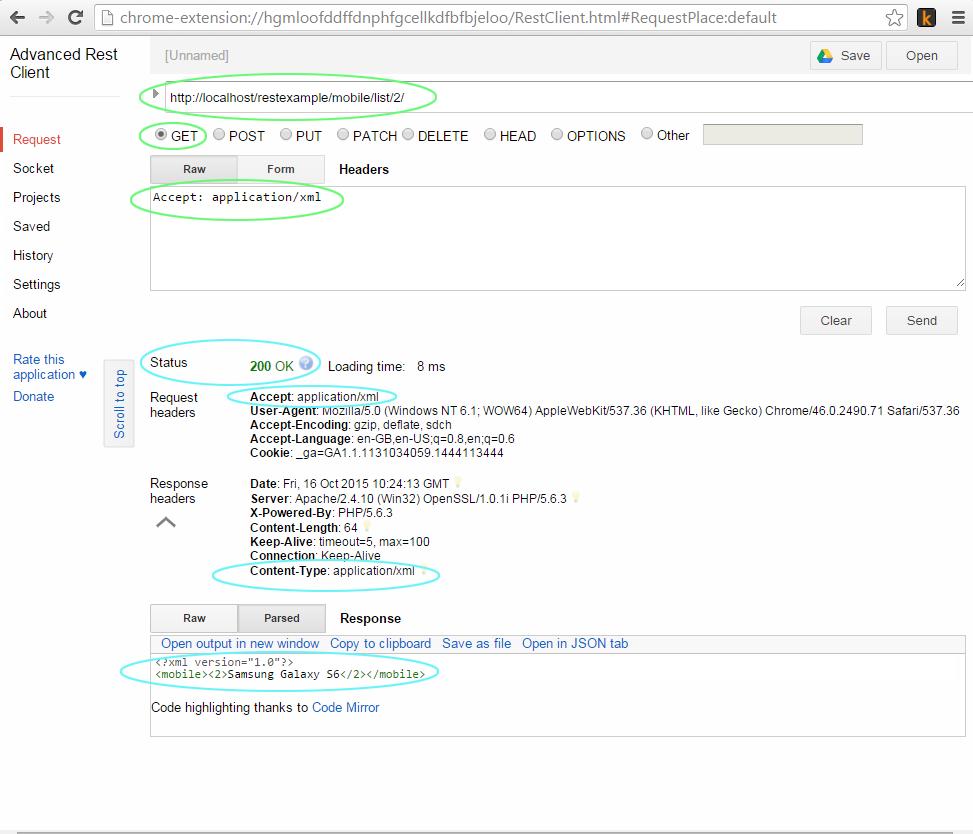 ساخت وب سرویس RESTful در php