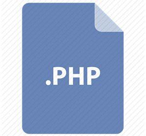دریافت پسوند فایل در php