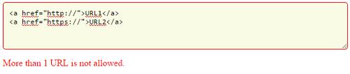 اعتبارسنجی فرم با jQuery برای جلوگیری از ارسال چند URL
