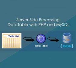 ساخت DataTable با PHP و MySQL