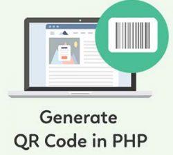 ساخت کد QR در PHP