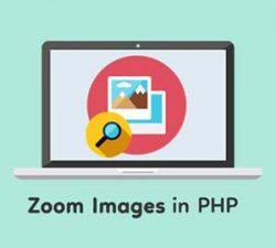 بزرگنمایی تصویر با php و جاوااسکریپت