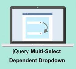 ساخت لیست باکس چند انتخابی با jQuery و PHP