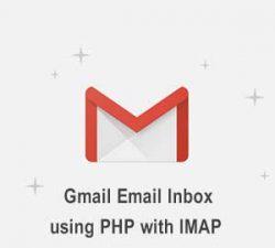 خواندن اینباکس gmail در php