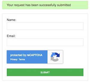 استفاده از invisible reCAPTCHA در php (ریکپچای نامرئی گوگل)