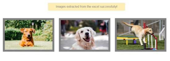 استخراج تصاویر از اکسل با PHP
